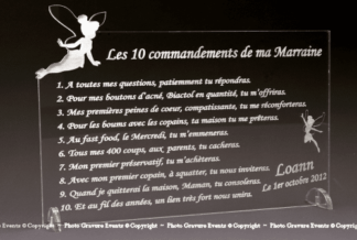 10 commandements FEE Marraine