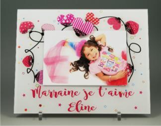 cadre photo pour marraine - cadeau bapteme anniversaire noel