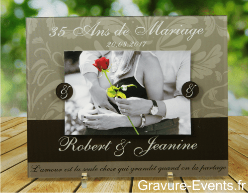 Cadre Photo Anniversaire De Mariage Mod O