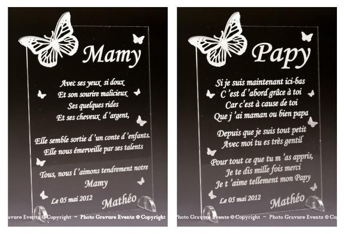 Poème Mod Papillon